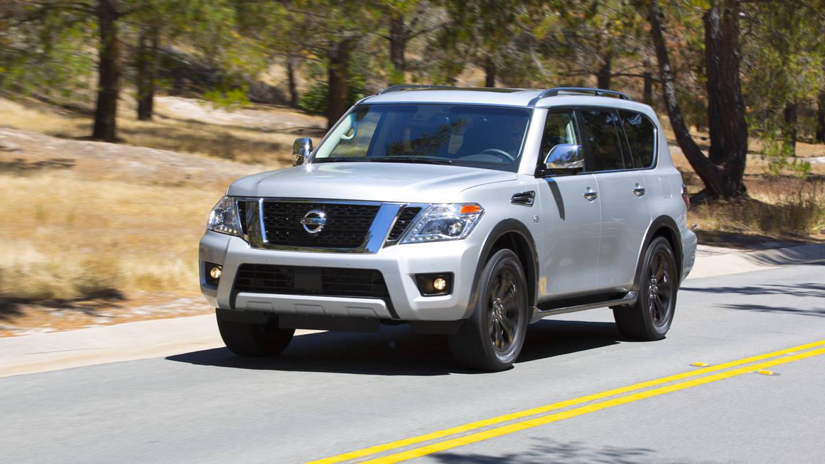 Nissan Armada II 2016 - now SUV 5 door #4