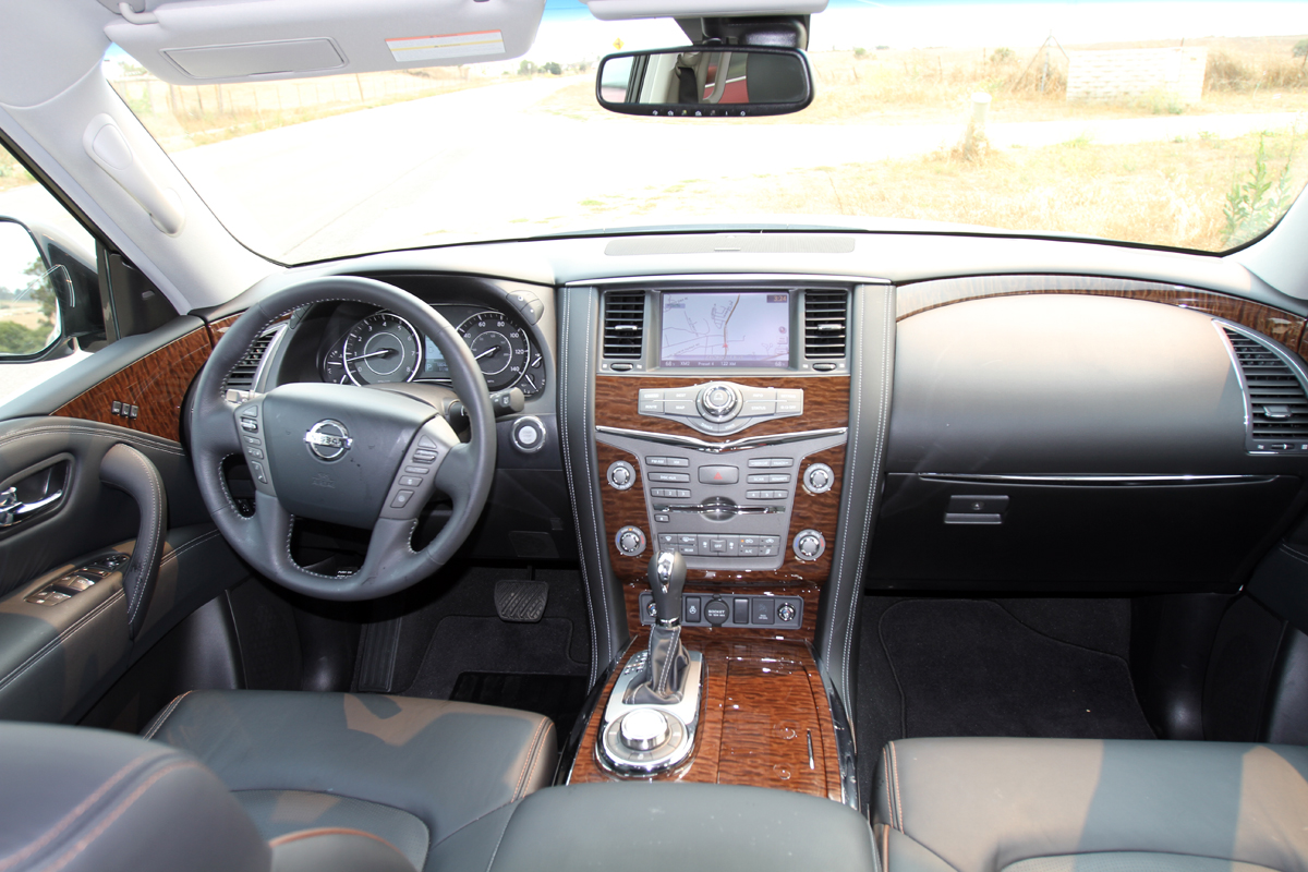 Nissan Armada II 2016 - now SUV 5 door #3