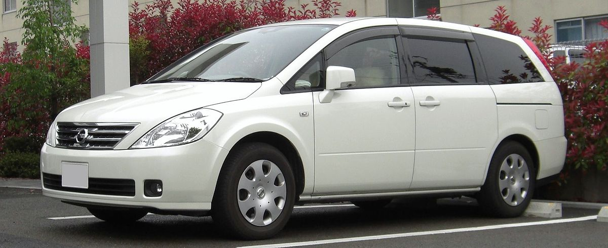 Nissan Presage II 2003 - 2009 Minivan #8