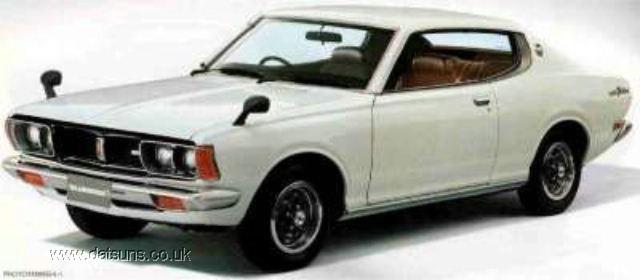 Nissan Bluebird IV (610) 1971 - 1976 Sedan #6