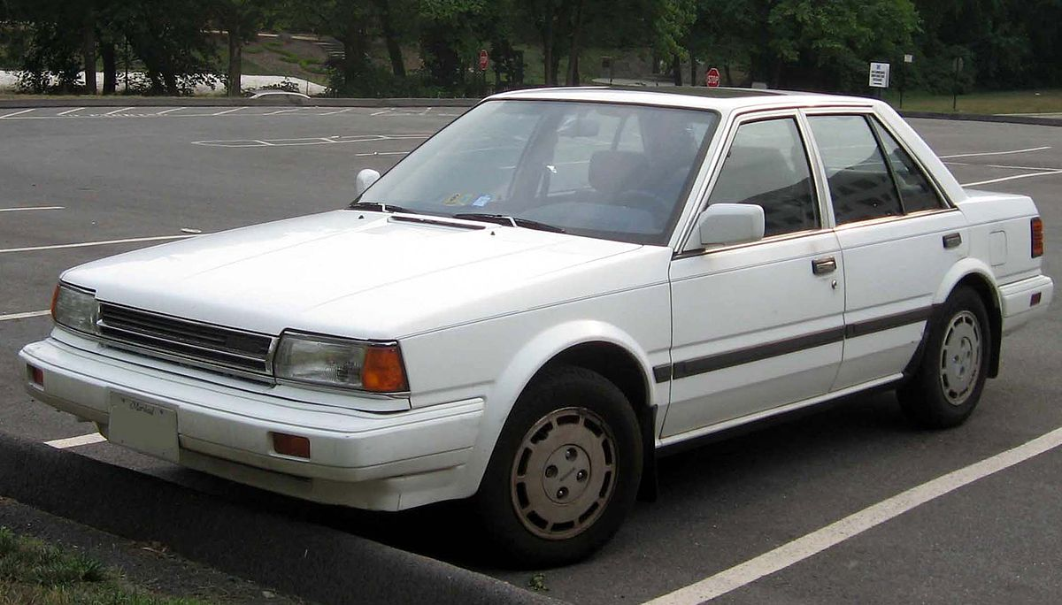 Nissan Stanza II (T12) 1986 - 1989 Sedan #8