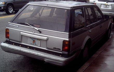 Nissan Bluebird Maxima II (PU11) 1984 - 1985 Sedan-Hardtop #3