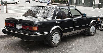 Nissan Bluebird Maxima II (PU11) 1984 - 1985 Sedan-Hardtop #5
