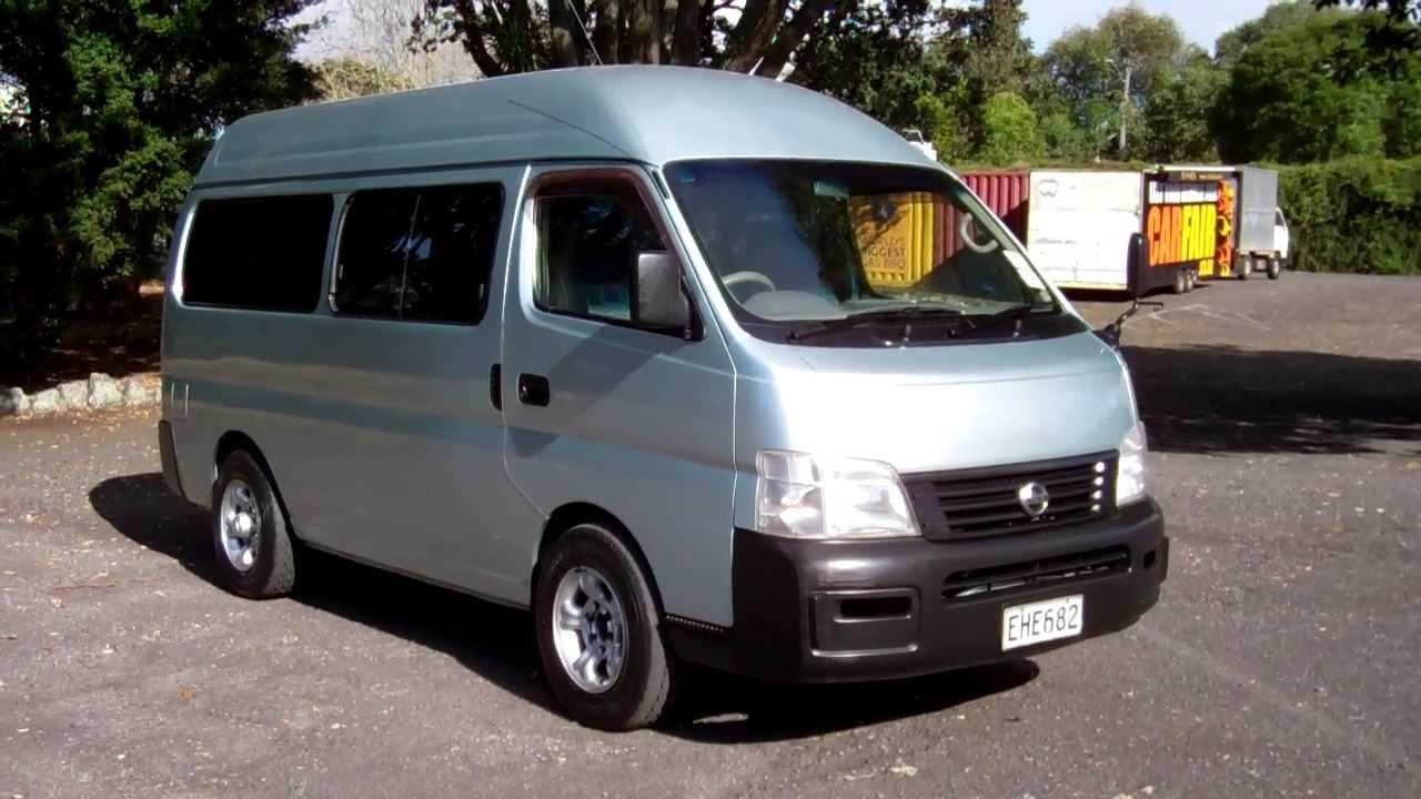 Nissan Urvan IV (E25) 2001 - 2012 Minivan #1