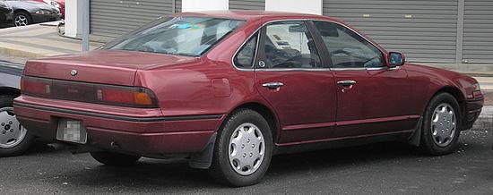 Nissan Cefiro I (A31) 1988 - 1994 Sedan #2