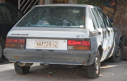Nissan Cherry IV (N12) 1982 - 1986 Sedan #4