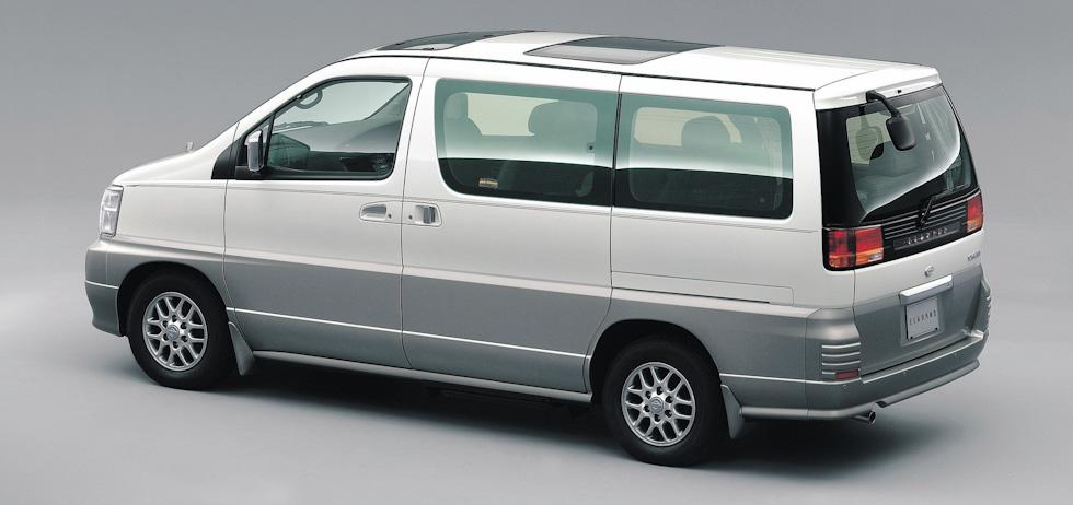 Nissan Elgrand I (E50) 1997 - 2002 Minivan #4