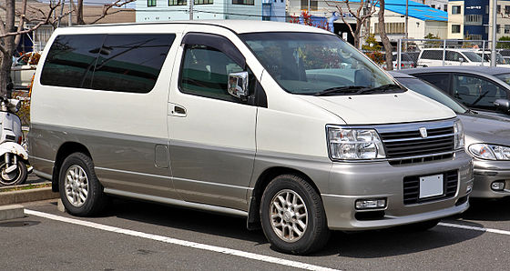 Nissan Elgrand I (E50) 1997 - 2002 Minivan #1