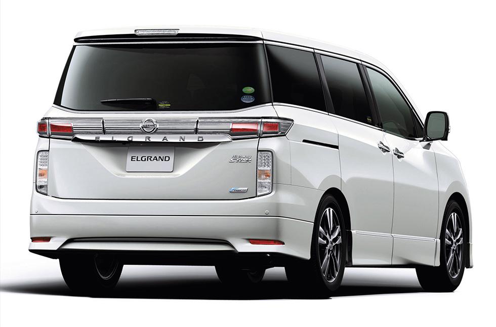 Nissan Elgrand III (E52) 2010 - now Minivan #5