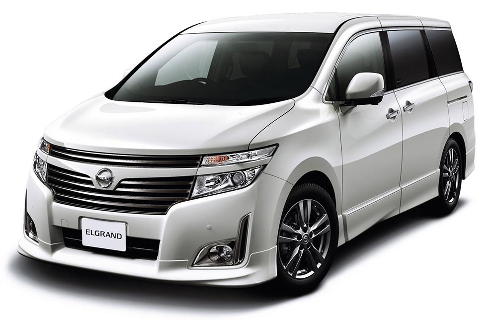 Nissan Elgrand III (E52) 2010 - now Minivan #4