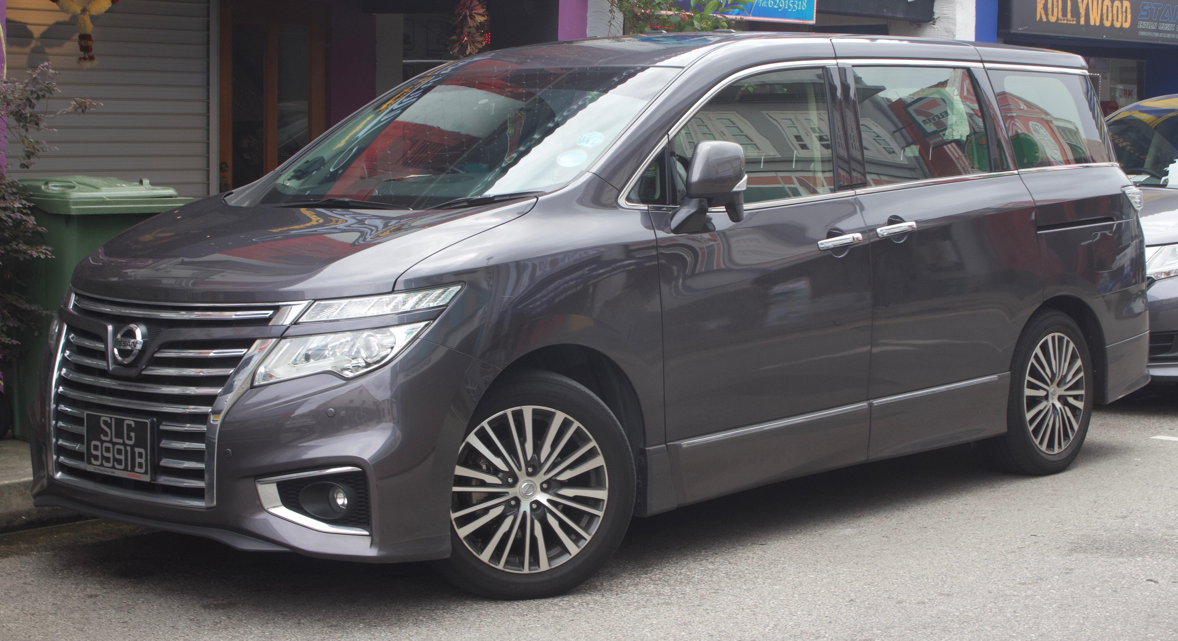 Nissan Elgrand III (E52) 2010 - now Minivan #1