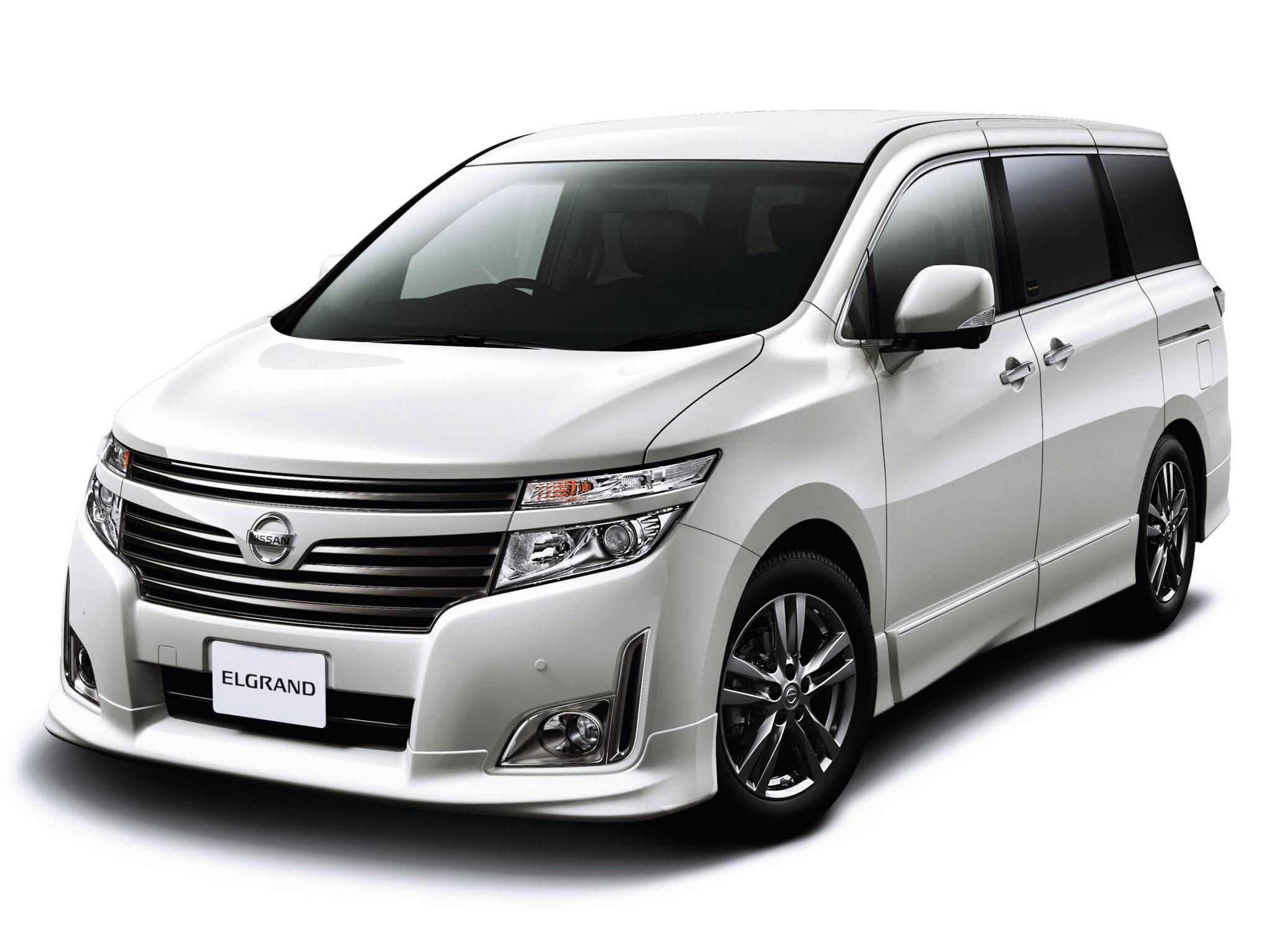 Nissan Elgrand III (E52) 2010 - now Minivan #2