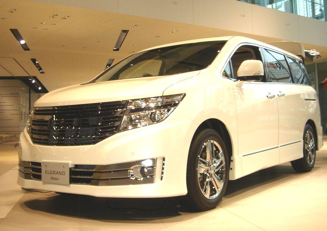 Nissan Elgrand III (E52) 2010 - now Minivan #6