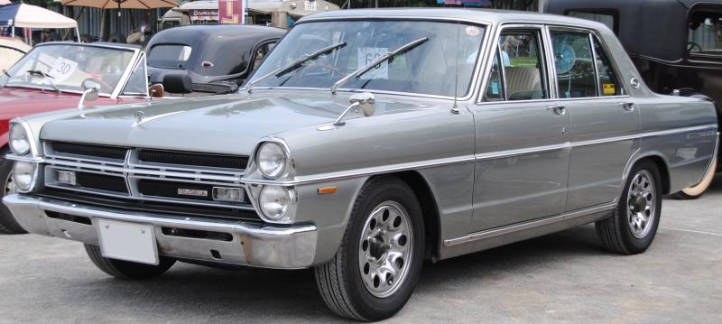 Nissan Gloria III (A30) 1967 - 1971 Sedan #5