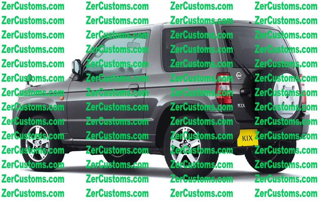 Nissan Kix 2008 - 2012 SUV 3 door #8