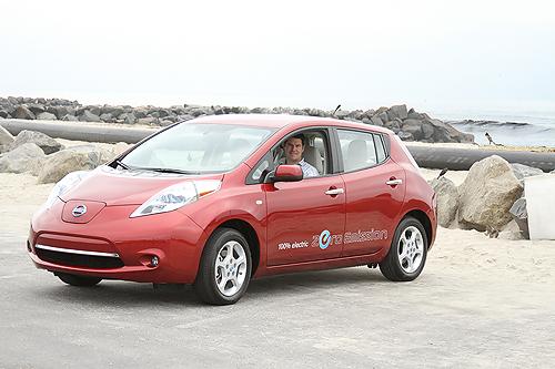 Nissan Leaf I 2010 - now Hatchback 5 door #4