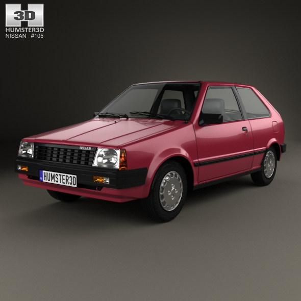 Nissan Micra I (K10) 1982 - 1992 Hatchback 3 door #5