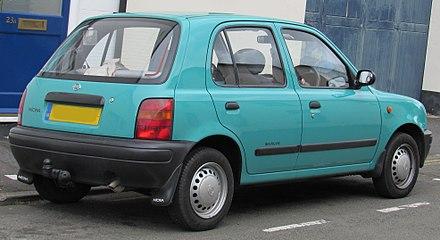 Nissan March II (K11) 1992 - 2002 Hatchback 5 door #7