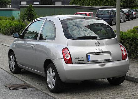 Nissan Micra III (K12) 2002 - 2010 Hatchback 3 door #4