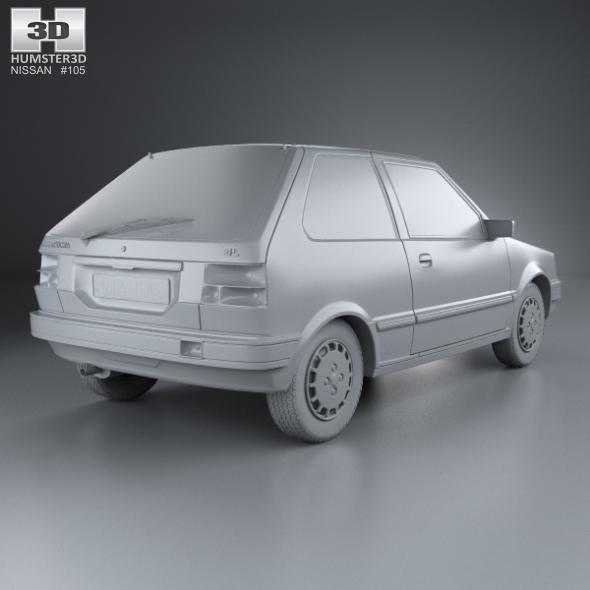 Nissan Micra I (K10) 1982 - 1992 Hatchback 3 door #2