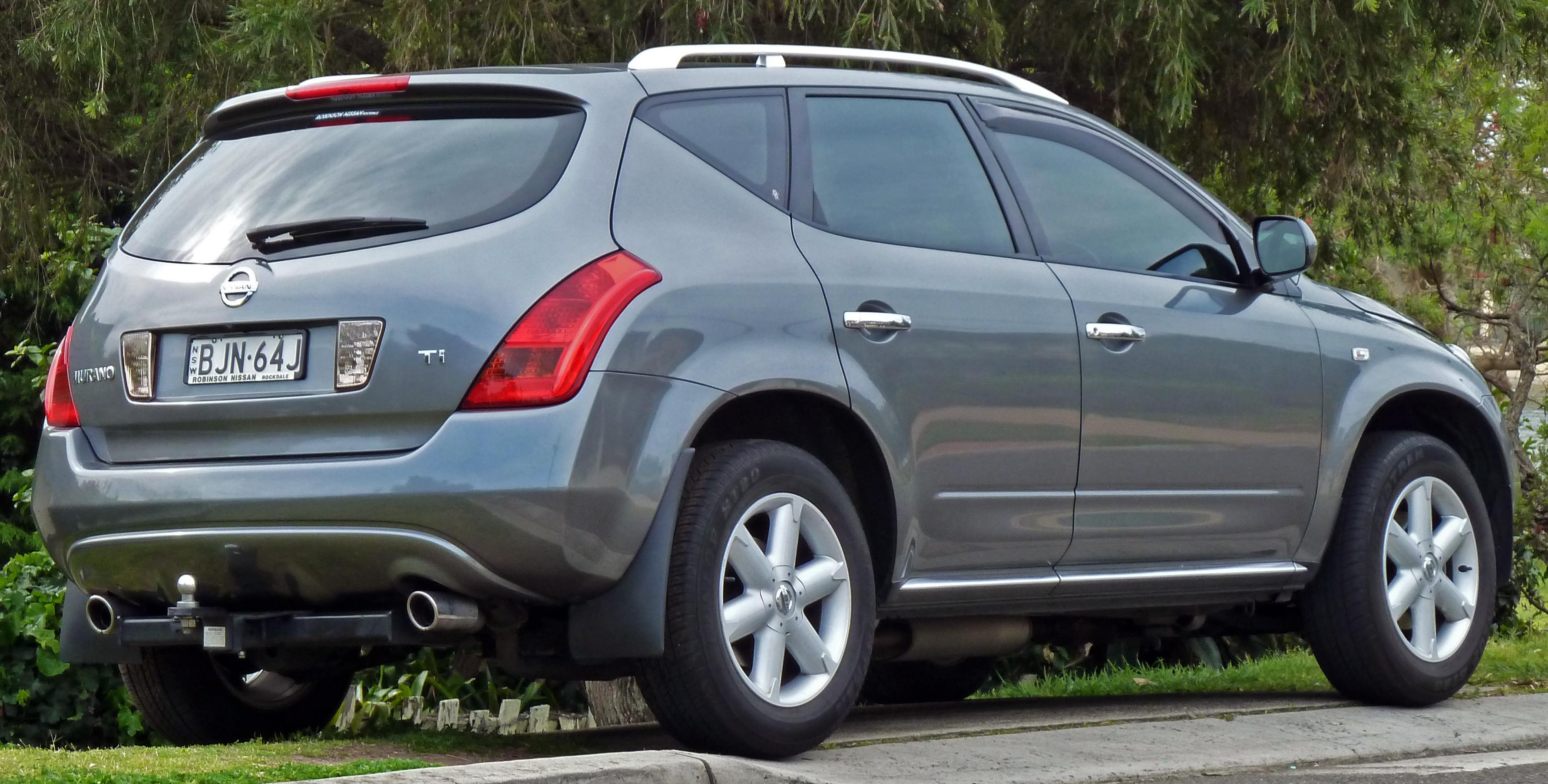 Nissan Murano I (Z50) 2002 - 2008 SUV 5 door #6