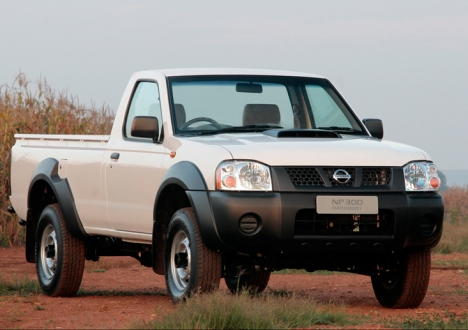 Nissan NP300 2008 - now Pickup #8