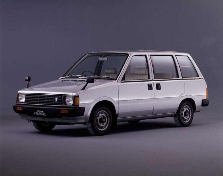 Nissan Prairie I (M10) 1982 - 1988 Compact MPV #2
