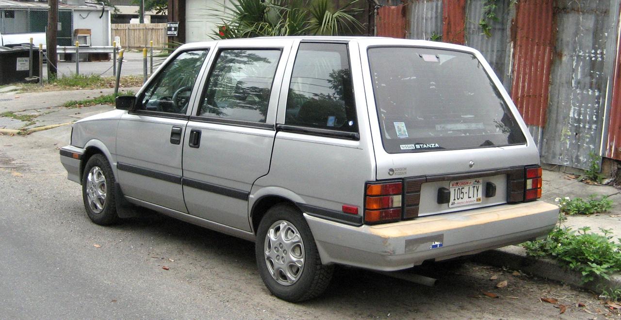 Nissan Prairie I (M10) 1982 - 1988 Compact MPV #4