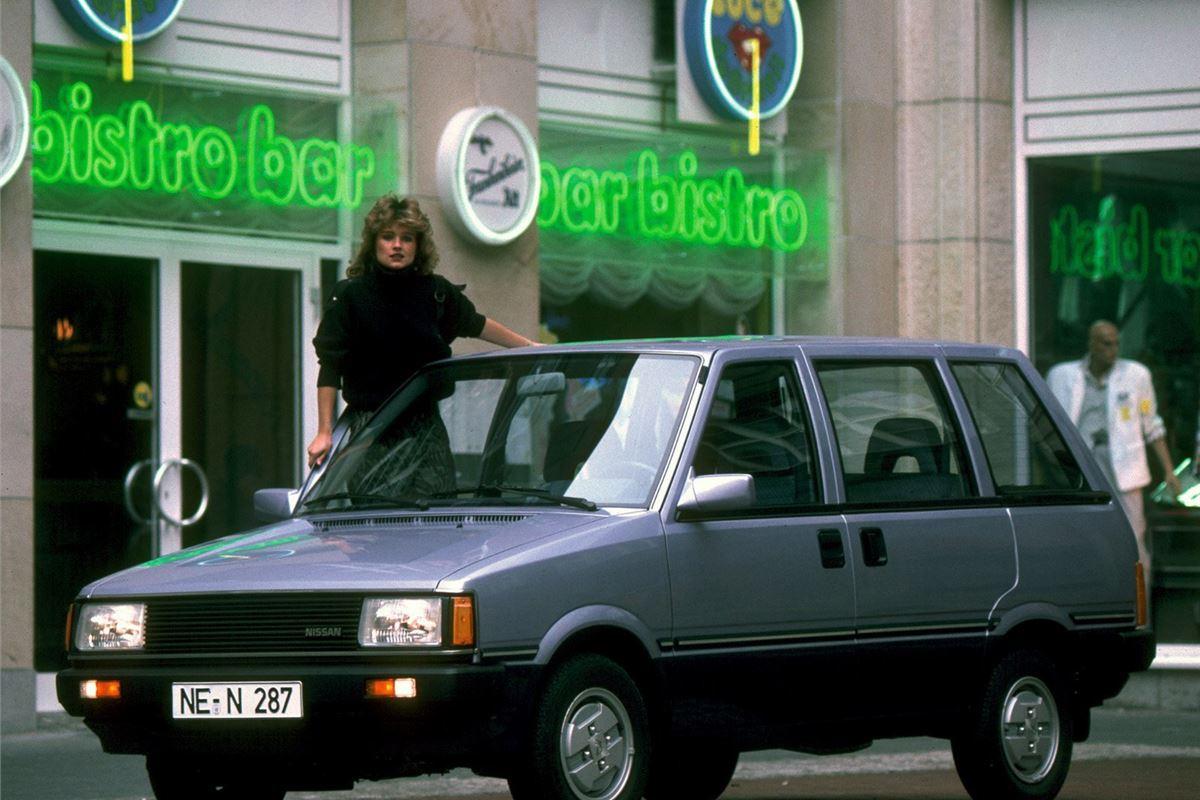 Nissan Prairie I (M10) 1982 - 1988 Compact MPV #3