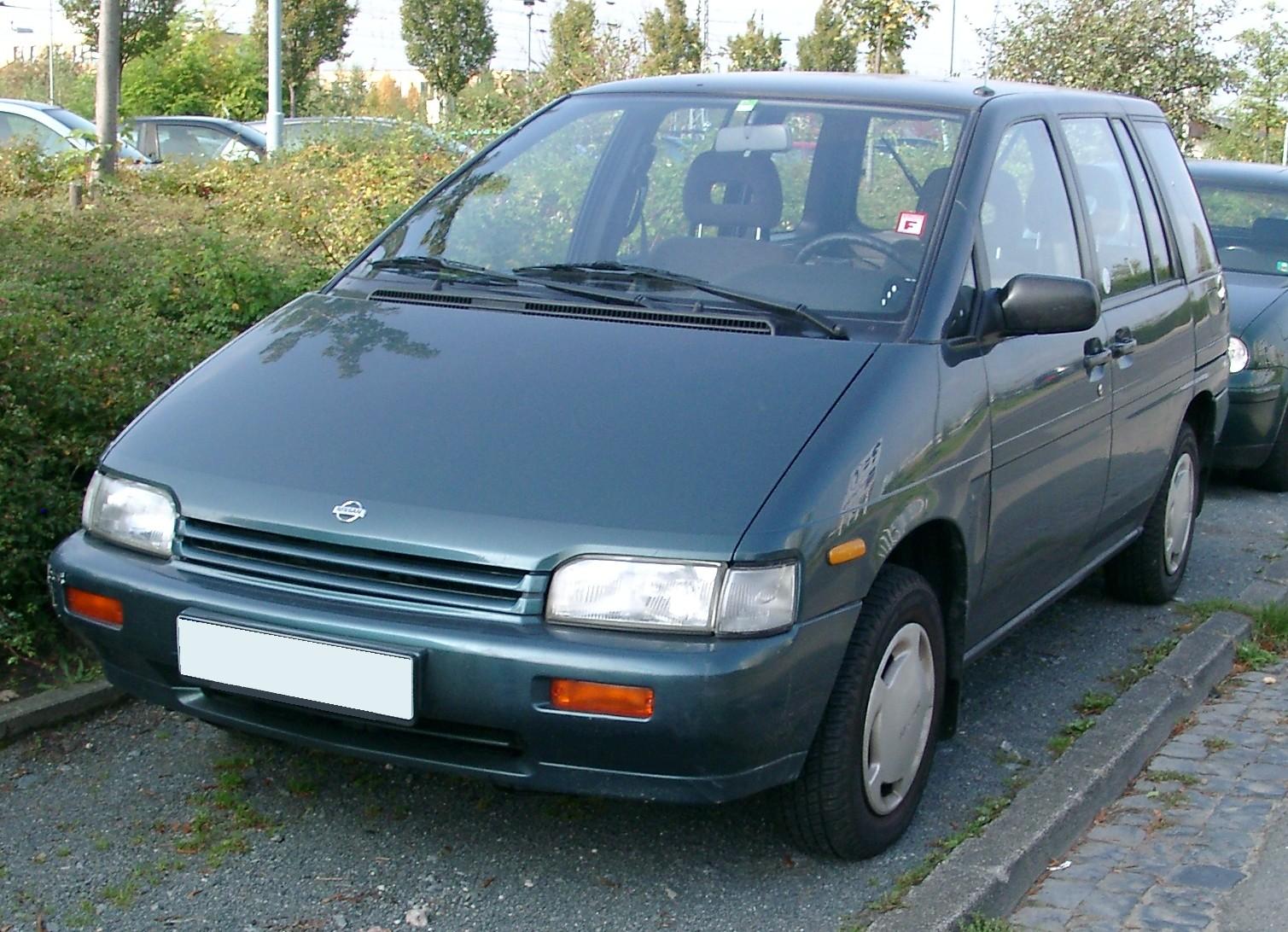 Nissan Prairie II (M11) 1988 - 1998 Compact MPV #3