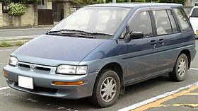 Nissan Prairie II (M11) 1988 - 1998 Compact MPV #8