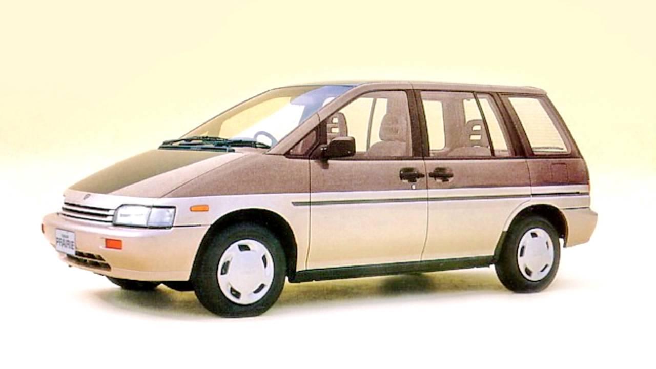 Nissan Prairie II (M11) 1988 - 1998 Compact MPV #7