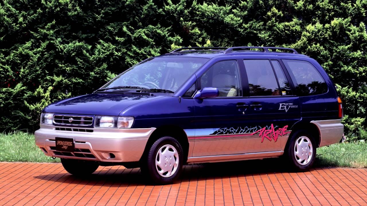 Nissan Prairie II (M11) 1988 - 1998 Compact MPV #6