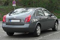 Nissan Primera III (P12) 2001 - 2008 Sedan #7