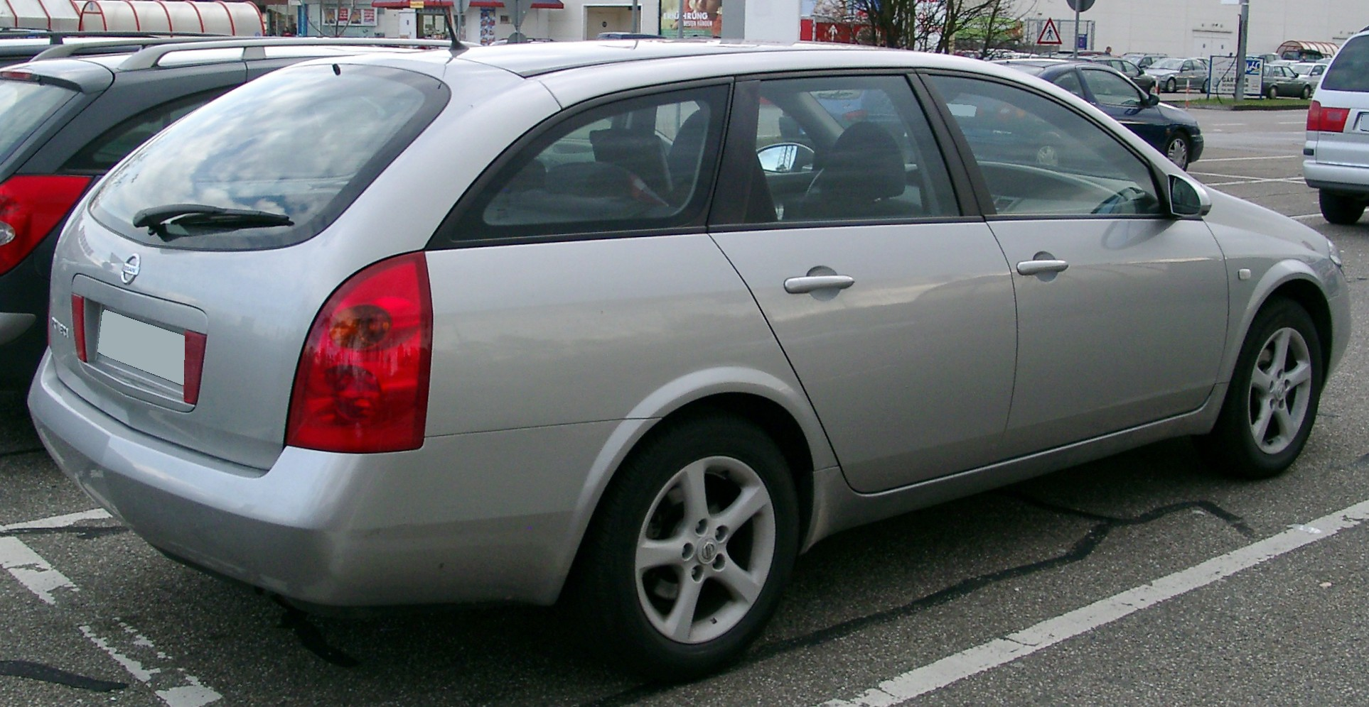 Nissan Primera III (P12) 2001 - 2008 Station wagon 5 door #1