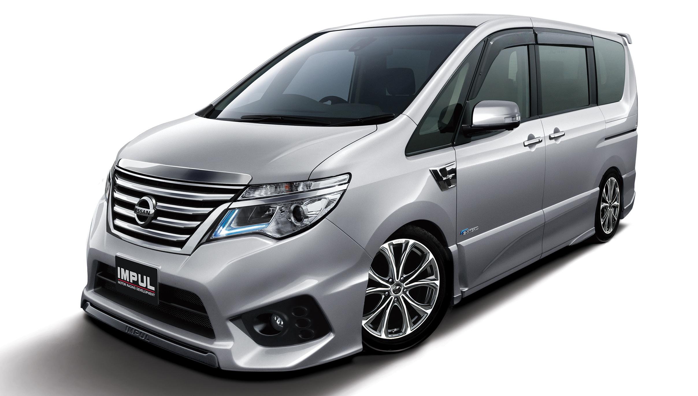 Nissan Serena V (C27) 2016 - now Minivan #3