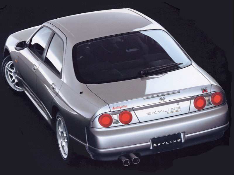 Nissan Skyline IX (R33) 1993 - 1998 Sedan #3