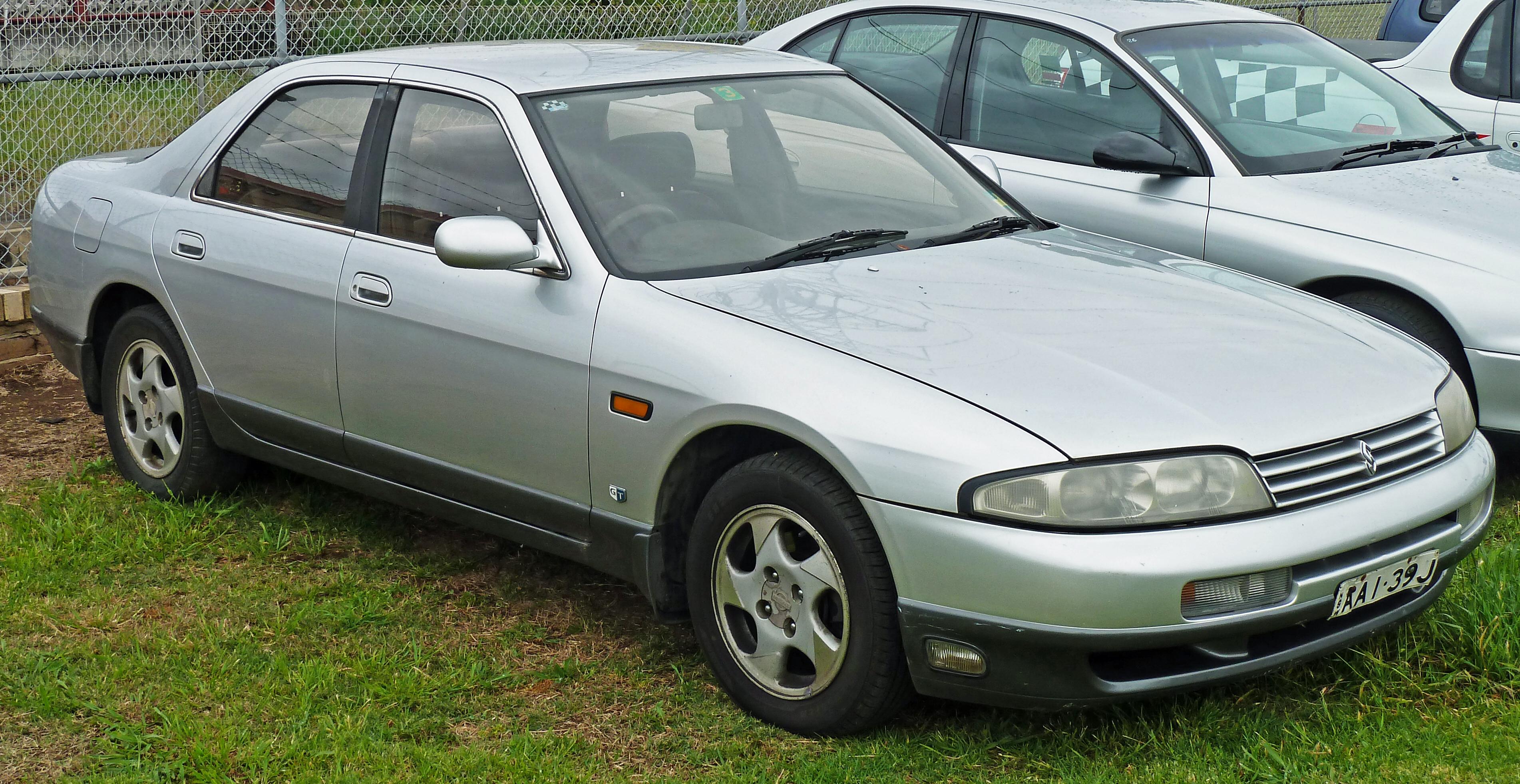 Nissan Skyline IX (R33) 1993 - 1998 Coupe #2