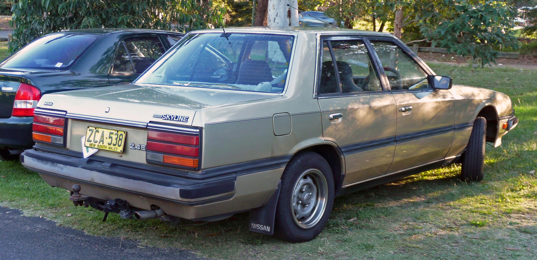 Nissan Skyline VI (R30) 1981 - 1985 Sedan #4