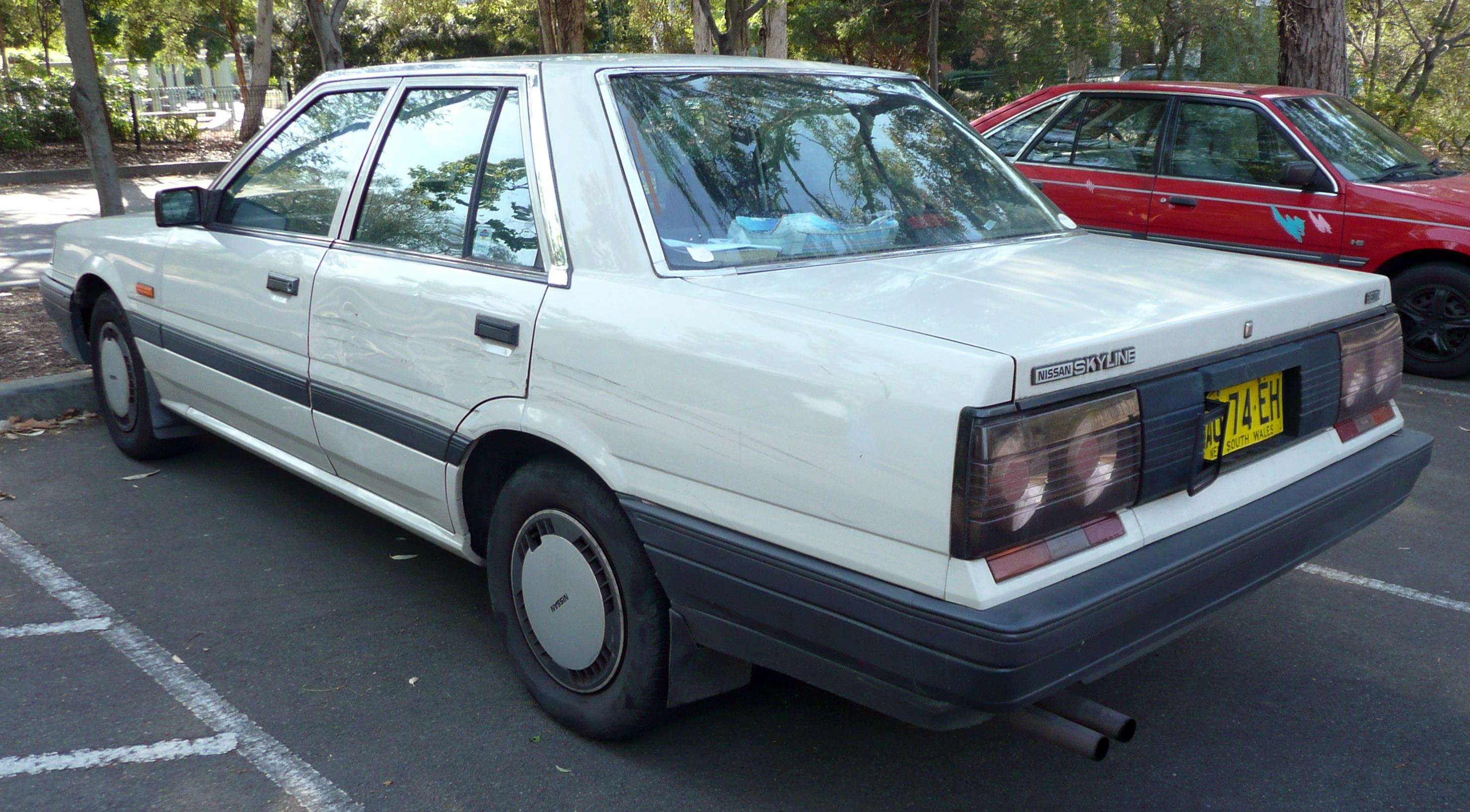 Nissan Skyline VII (R31) 1985 - 1989 Station wagon 5 door #2