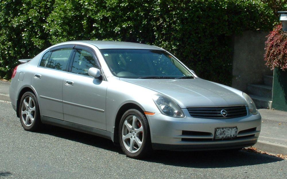 Nissan Skyline XI (V35) 2001 - 2007 Sedan #4