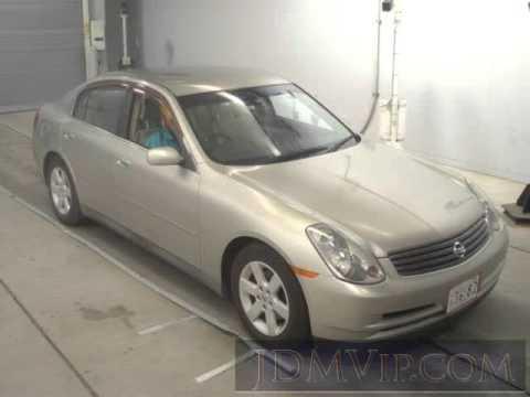 Nissan Skyline XI (V35) 2001 - 2007 Sedan #3