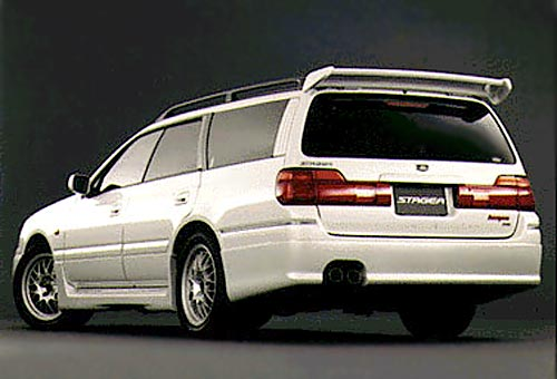 Nissan Stagea I 1996 - 2001 Station wagon 5 door #1