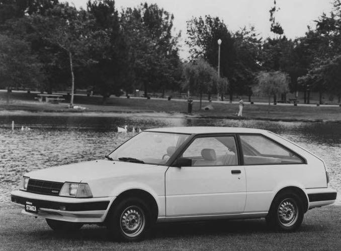 Nissan Stanza I (T11) 1981 - 1985 Hatchback 3 door #1