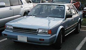 Nissan Stanza II (T12) 1986 - 1989 Sedan #7