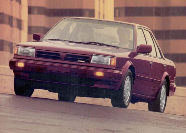 Nissan Stanza II (T12) 1986 - 1989 Sedan #6