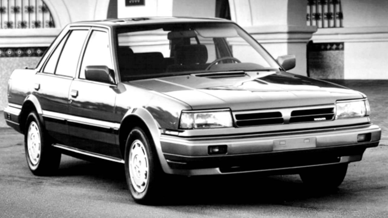 Nissan Stanza II (T12) 1986 - 1989 Sedan #5