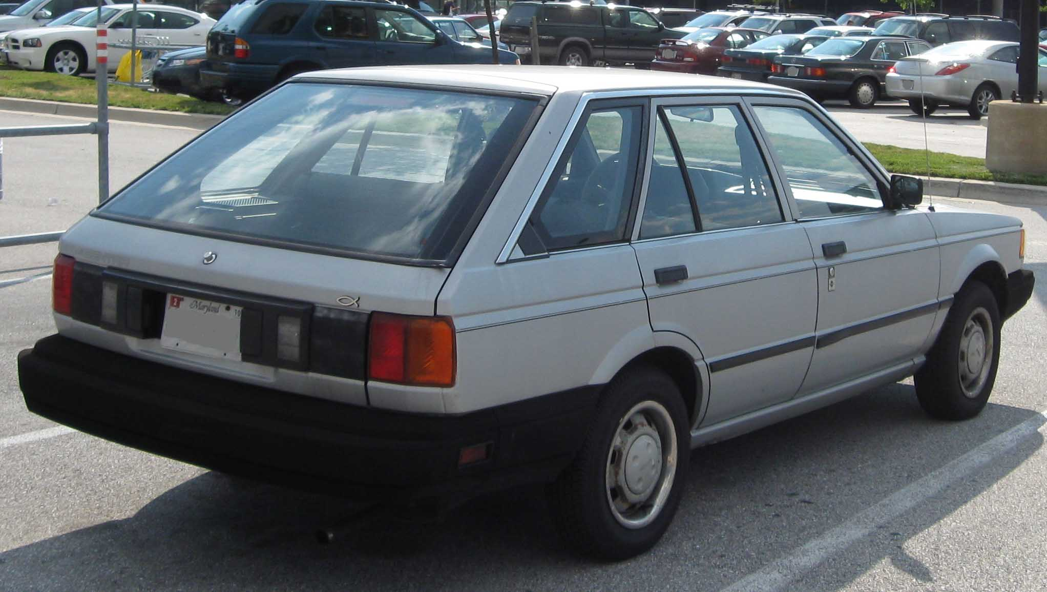 Nissan Sunny B12 1986 - 1991 Coupe #1