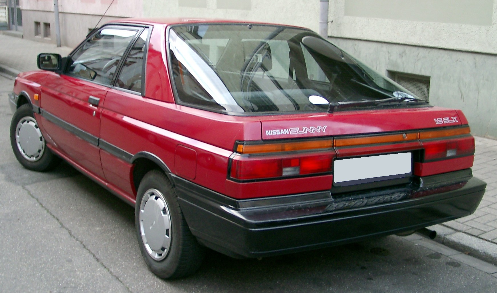 Nissan Sunny B12 1986 - 1991 Coupe #3