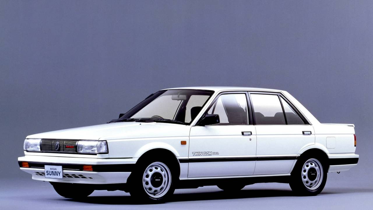 Nissan Sunny B12 1986 - 1991 Coupe #4